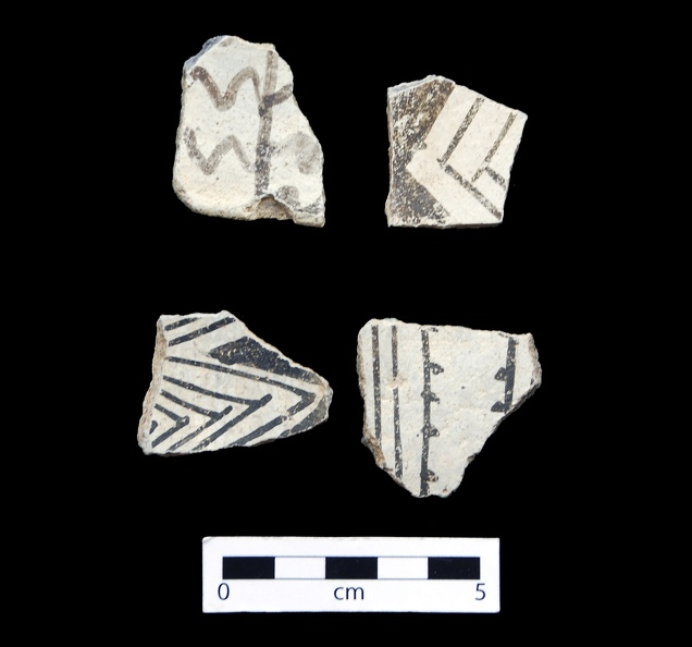 Kiatuthlanna Black-on-white Sherds