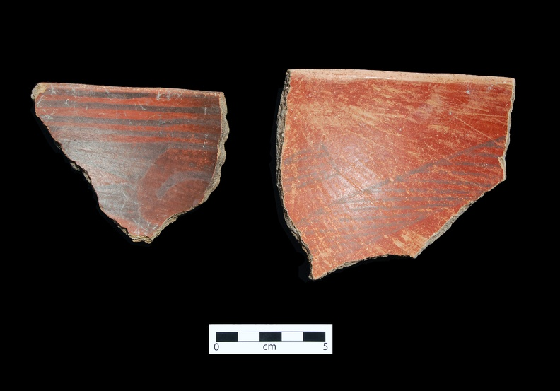 Medicine Black-on-red Sherds