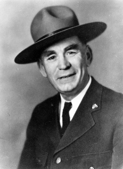 Superintendent Frank Pinkley, 1937