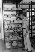 "The ""Pottery Room"" in 1957"