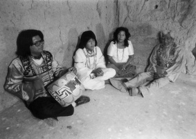 Documenting Pima chants and songs, 1979