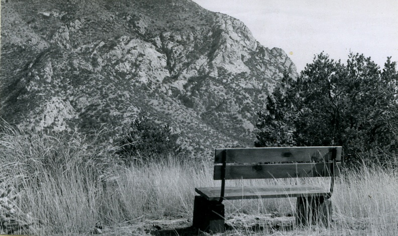 Bench Overlooking Montezuma Canyon