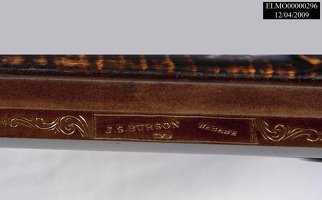 Late 1800s Longrifle, Barrel Stamp