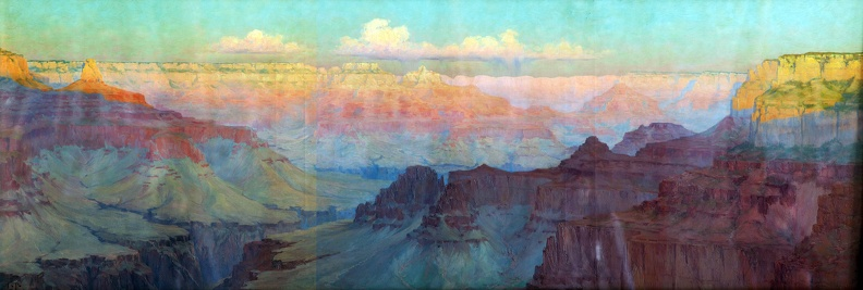 Akin's Grand Canyon Painting
