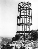 Steel Frame, Desert View Watchtower
