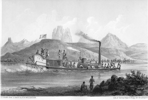 Steamboat Engraving