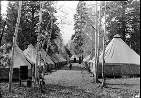 Camp 818 on the North Rim, 1936