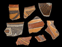 Polychrome Sherds from Keet Seel