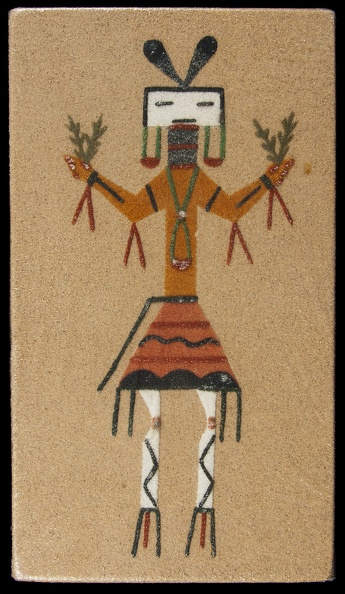 Image result for Navajo sandpainting in museums