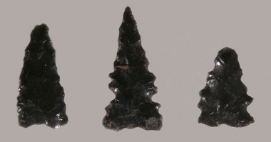 Obsidian Projectile Points