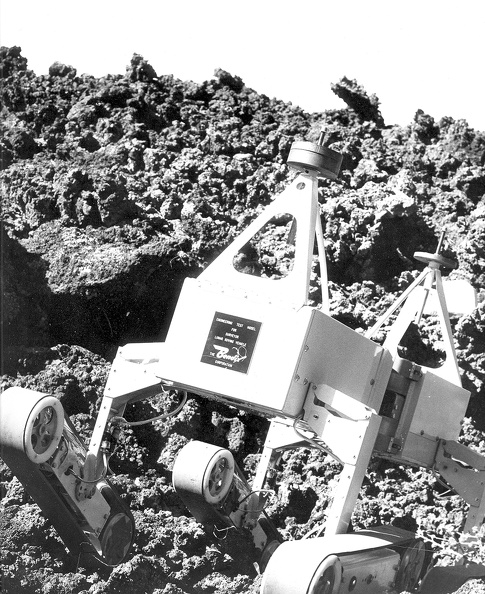 Surveyor Lunar Rover Prototype