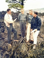 Geology Training on the Bonito Lava Flow, 1964