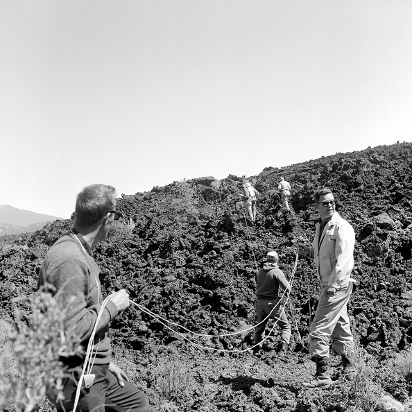Testing Suits on the Bonito Lava Flow