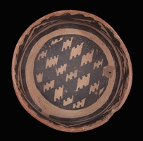 Cliff Polychrome Bowl, Alternate View