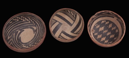 Gila and Cliff Polychrome Bowls