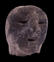 Human Head Figurine