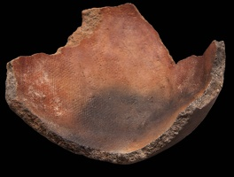Tuzigoot Plain or Red Sherd with Fabric Impressions, Alternate View