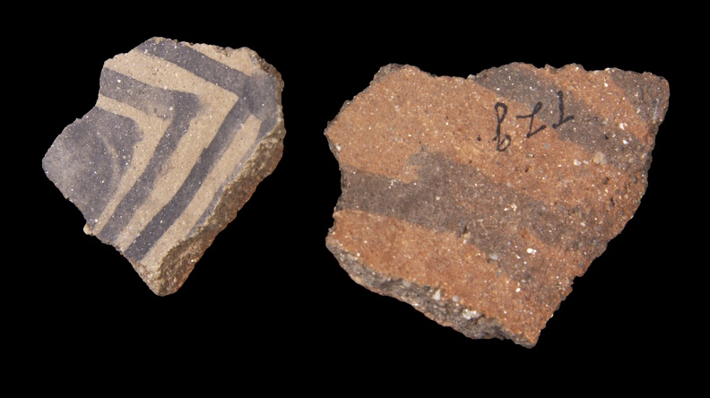 Prescott Black-on-Gray Sherds