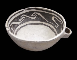 Tusayan Black-on-White Bowl