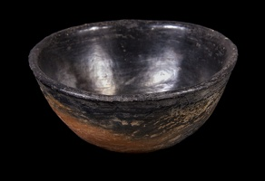 Youngs Red Smudged Bowl