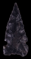 Side-notched Obsidian Point