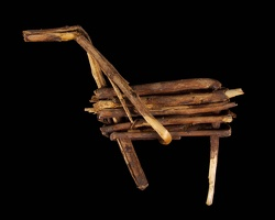 Split Twig Figurine