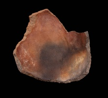 Tuzigoot Plain or Red Sherd with Fabric Impressions
