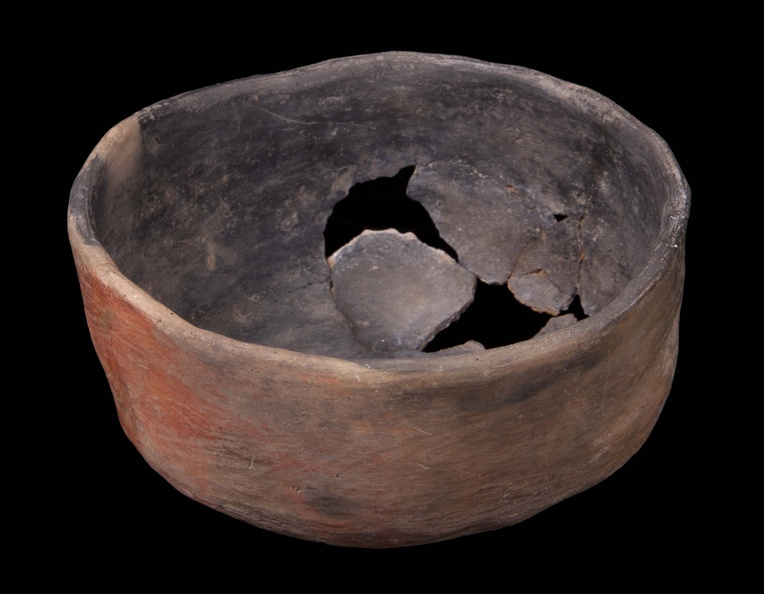 Tuzigoot Red Smudged Bowl