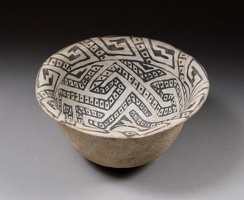 Flagstaff Black-on-white Bowl