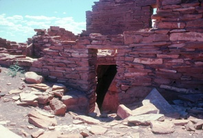 Door at Crack-in-Rock Pueblo
