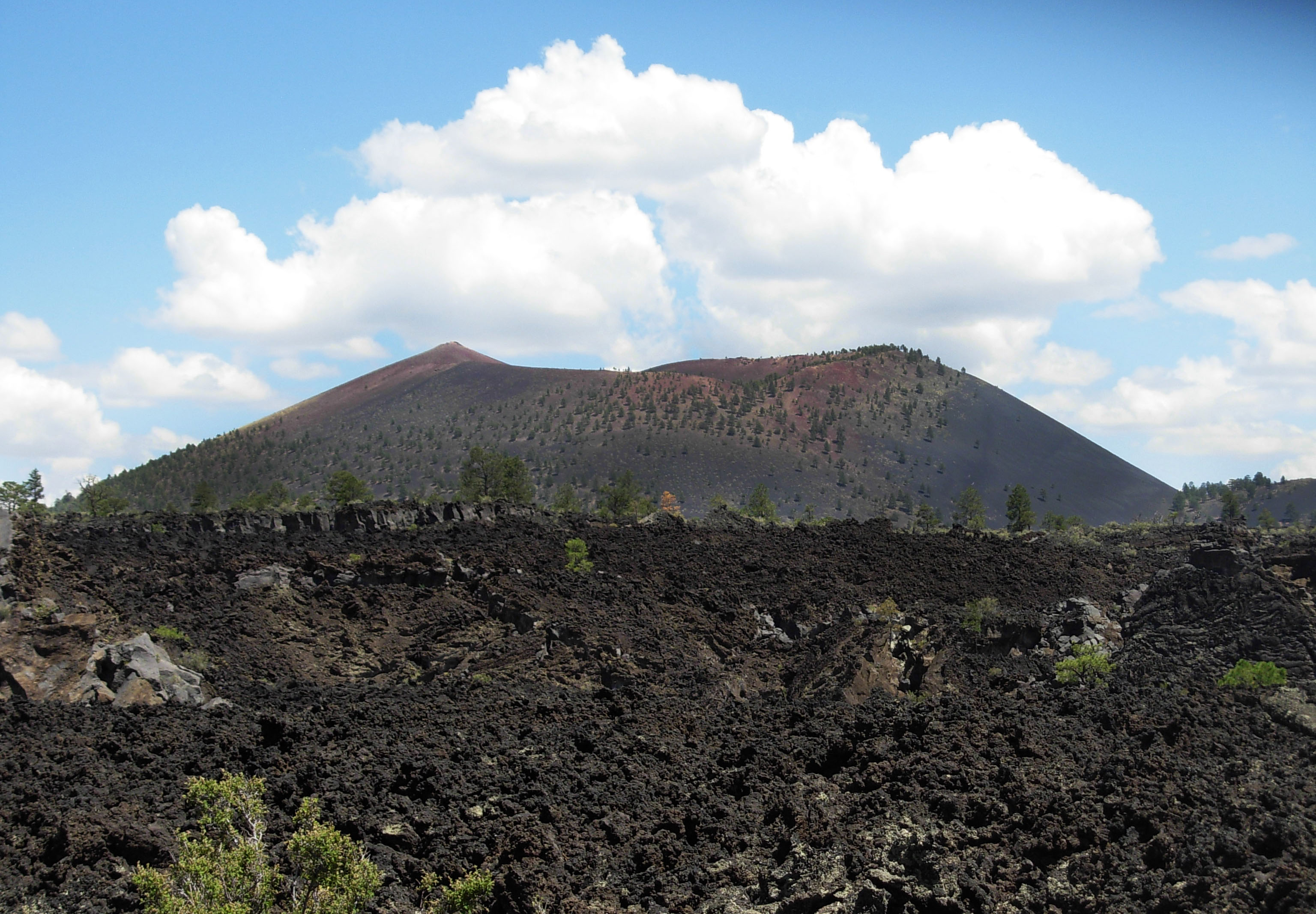 Sunset Crater is a cinder cone