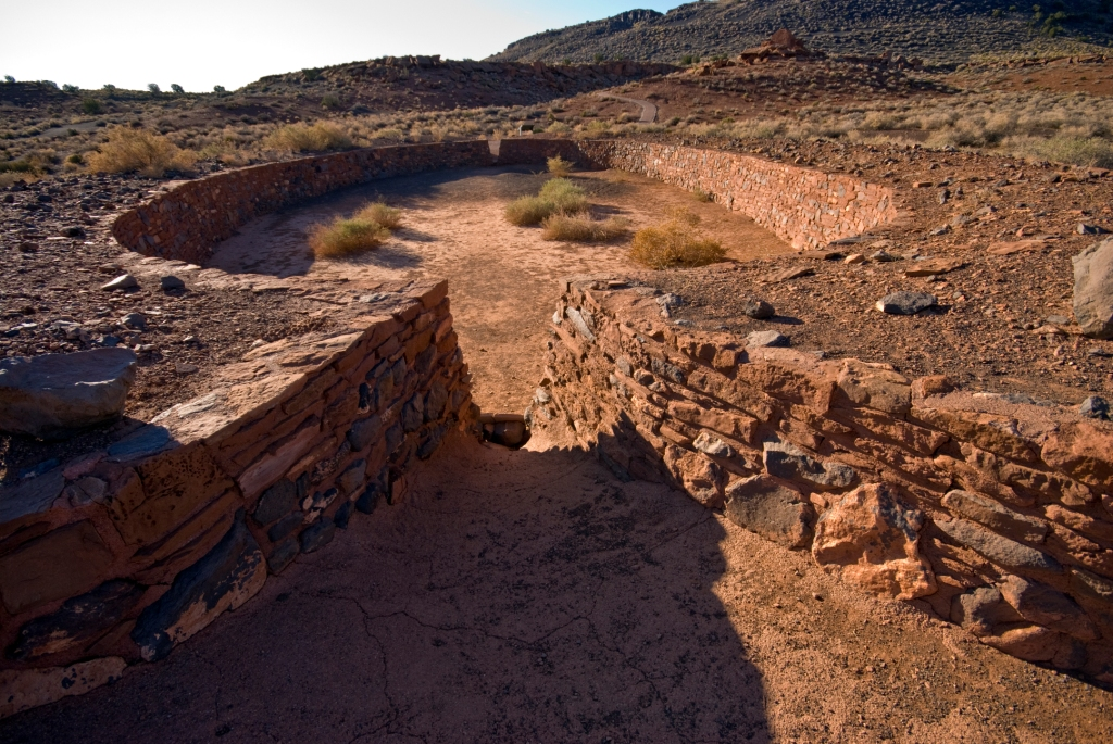 Ballcourt at Wupatki Pueblo