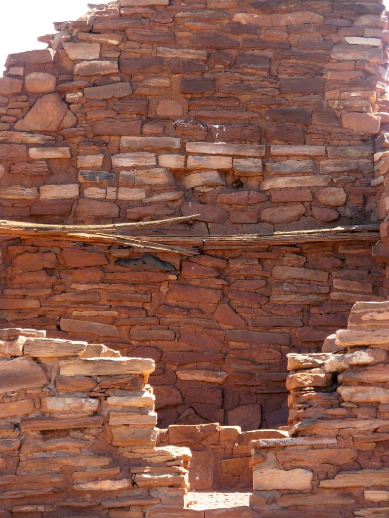 Wooden roof beam, Wupatki Pueblo
