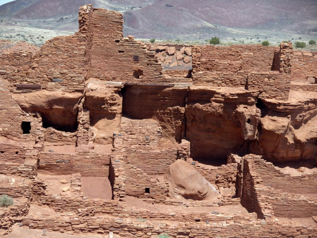 Living and storage rooms, Wupatki Pueblo