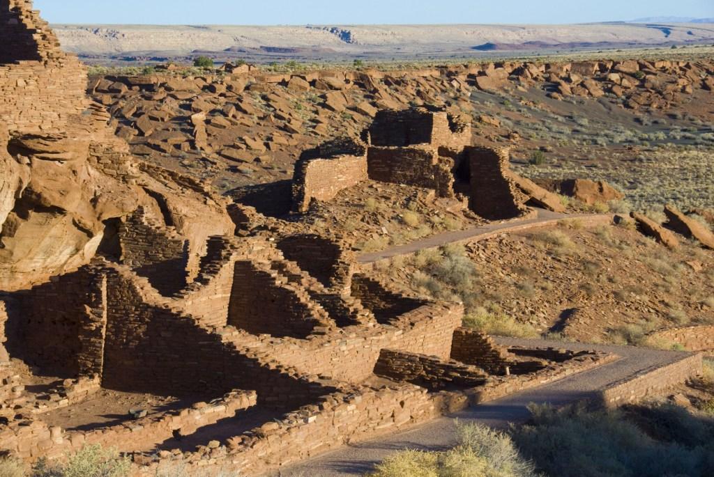 Terraced rooms, Wupatki Pueblo