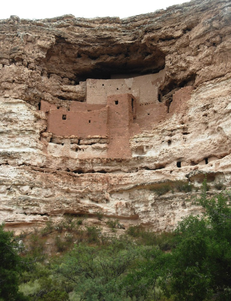 Montezuma Castle. Photo Credit: Meghann M. Vance, Northern Arizona University Anthropology Laboratories, 2010. Click the image to open the Montezuma Castle NM gallery.