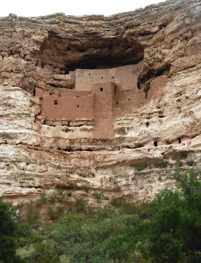 Montezuma Castle. Photo Credit: Meghann M. Vance, Northern Arizona University Anthropology Laboratories, 2010. Click the image to open the Montezuma Castle NM gallery.