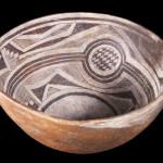 Mimbres Black-on-white bowl