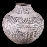 Leupp Black-on-white jar