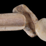 Bone gaming pieces, Wupatki National Monument