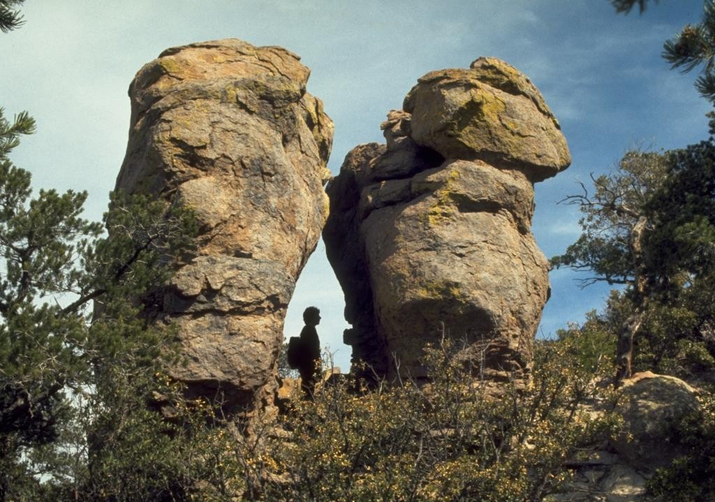 Chiricahua National Monument.  Photo Credit: National Park Service.  Click the image to open the Chiricahua NM gallery.