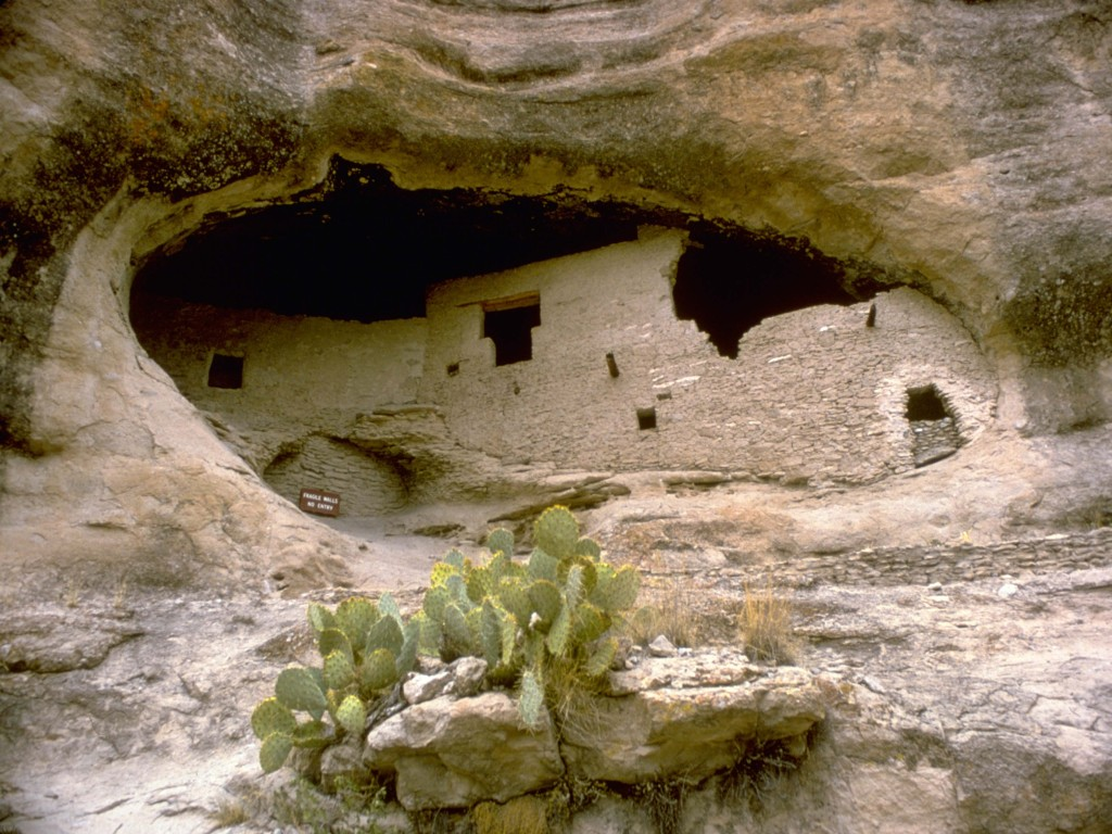 Gila Cliff Dwellings. Photo Credit: National Park Service.