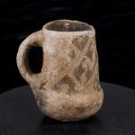 Chaco-style Tusayan Black-on-white cylinder jar