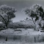 Historic photo pf Tuzigoot Pueblo