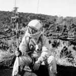 Astronaut training at Sunset Crater