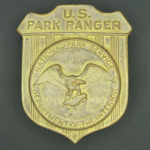 NPS park ranger badge