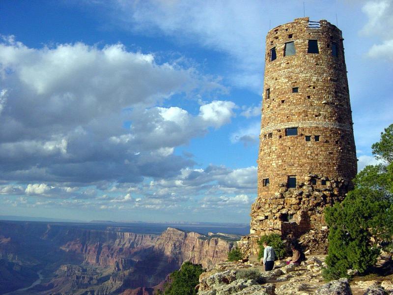 Desert View Watchtower   American Southwest Virtual Museum