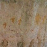 Basketmaker pictographs, Walnut Canyon