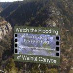 Video of 1993 flood through Walnut Canyon